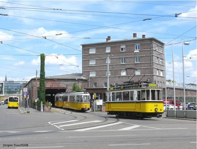 Strassenbahnwelt stuttgart informationen zum for Depot feuerbach