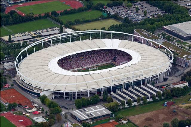 Mercedes benz arena informationen zum veranstaltungsort for Pictures of mercedes benz stadium